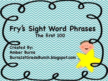 Sight Word Phrases: First 100