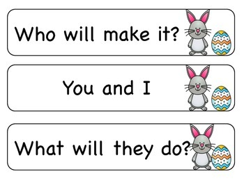 Sight Word Phrases: First 100 for April
