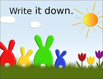 Sight Word Phrases PowerPoint (first 100 words) Spring Theme