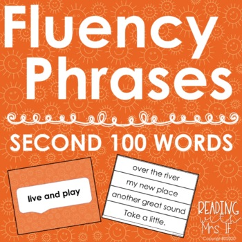Sight Word Phrases - Second 100 Words