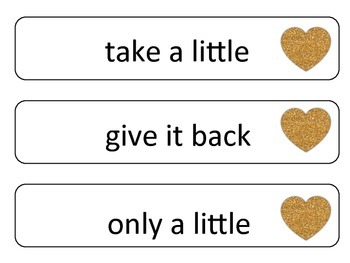 Sight Word Phrases: Second 100 for February