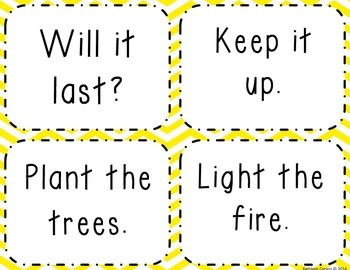 Sight Word Phrases & Short Sentences for Fluency Flash Cards - THIRD 100
