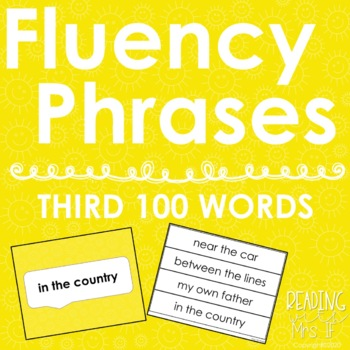 Sight Word Phrases - Third 100 Words