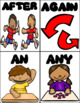 Sight Word Picture Flashcards - First Grade