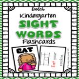 Sight Word Flashcards - Kindergarten Dolch Primer
