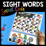 Sight Word Picture Puzzles - What is the Secret Code Sight