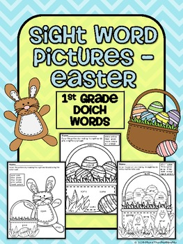 Sight Word Pictures - Easter FREEBIE