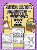 Sight Word Pictures - Easter FREEBIE (Primer)