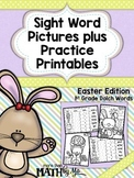 Sight Word Pictures plus Practice Printables {Easter}