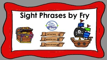 Sight Word Pirate Phrases