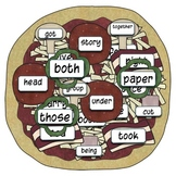 Sight Word Pizza Slice (2nd 100 Fry Words)