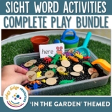Sight Word Play Bundle In the Garden Themed
