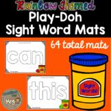 Sight Word Play Doh Mats