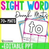 Sight Word Playdough Mats Editable Literacy Center