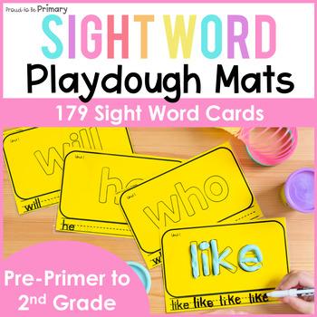 Dolch Sight Words Dough Mats