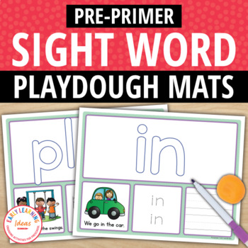 Sight Words:  Pre-Primer Sight Word Activity Mats