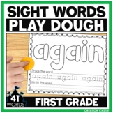 Sight Word Play Dough Mats - First Grade Sight Words