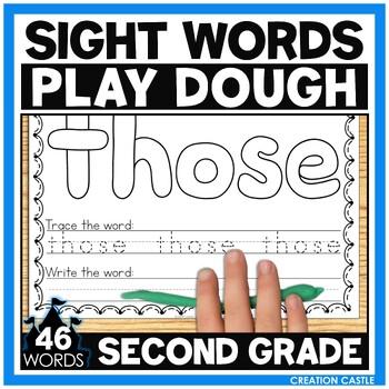 Sight Word Play Dough Mats - 2nd Grade