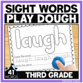 Sight Word Play Dough Mats - Third Grade Sight Words