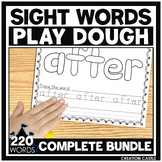 Sight Word Play Dough Mats BUNDLE