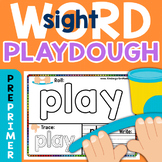 Sight Word Play Dough Mats: Dolch 220 PrePrimer