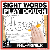 Sight Word Play Dough Mats - Pre Primer Sight Words