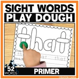 Sight Word Play Dough Mats - Primer Sight Words