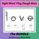 Sight Word Playdough Mats--The BUNDLE