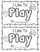 "Sight Word ""Play"" Emergent Reader"