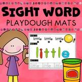 Sight Word Playdough Mats