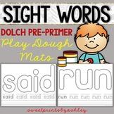 Sight Word Playdough Mats PRE PRIMER
