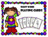Sight Word Playing Cards - Level K