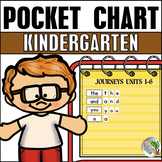 Pocket Chart Center (Journeys Sight Words Kindergarten Uni