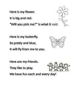 Sight Word Poem
