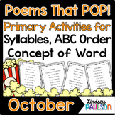 October Poems & Shared Reading
