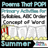 Summer Poems & Shared Reading