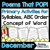 December Poems & Shared Reading