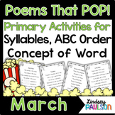 March Poems & Shared Reading