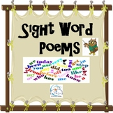 Sight Word Poems {First 33 Sight Words}