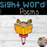 Sight Word Poems Pack