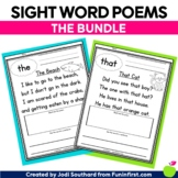 Sight Word Poems {The Bundle of 300 Poems}