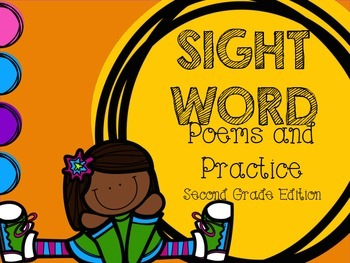 Sight Word Poems and Practice SECOND GRADE EDITION