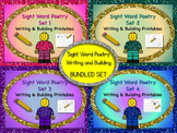 Sight Word Poetry Writing & Building Fry Words 1-100  Dist