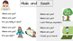 Sight Word Poetry for Pre Primer and Primer Sight Words- Set 2