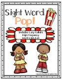 Sight Word Pop! High Frequency Word Lists as suggested by