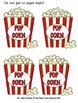 Sight Word Pop Popcorn Activity