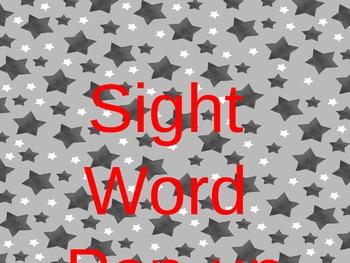 Sight Word Pop-Up