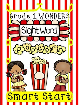 Sight Word Popcorn Wonders Smart Start Grade 1 Freebie