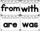 Sight Word Popcorn Word Flashcards (146 WORDS)