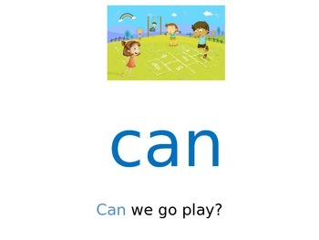 Sight Word Power Point